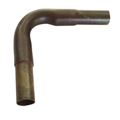 Codo para barras de cortina 25 mm metal envejecido