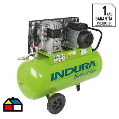 Compresor de aire portátil 3 HP 100 litros