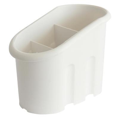 Portaservicios plástico blanco