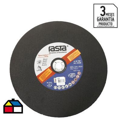 """Disco de corte metal 14"""" óxido de aluminio"""