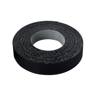 Tapacanto melamina Negro encolado 21x0,5 mm 10 m