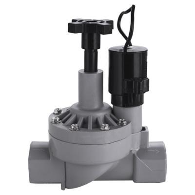 """Válvula con control de flujo plástico 3/4"""""""