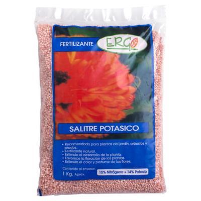 Fertilizante para plantas salitre potásico 1 kg bolsa