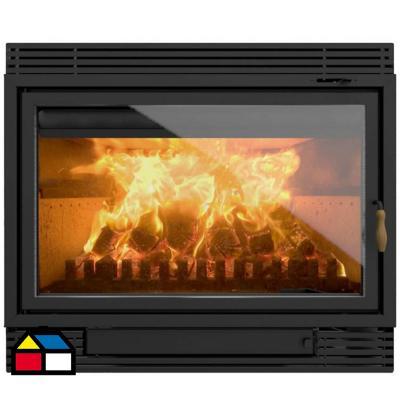 Calefactor-chimenea leña Insert 1100