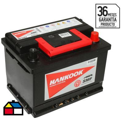 Batería para auto 54 A positivo derecho 480 CCA