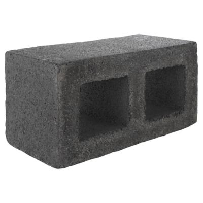 190x190x390 mm Bloque Cemento Liso Gris