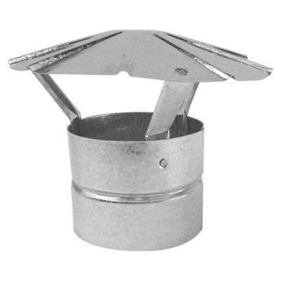 "Gorro para tubo acero galvanizado 3.5"""