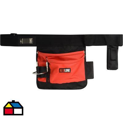 Cinturón porta herramientas 4 bolsillos