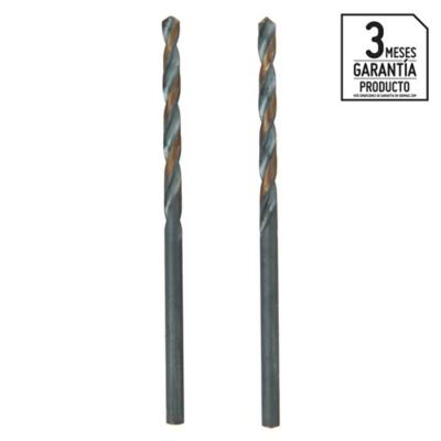 Broca para metal 3x60 mm