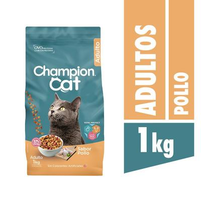 Alimento seco para gato adulto 1 kg pollo