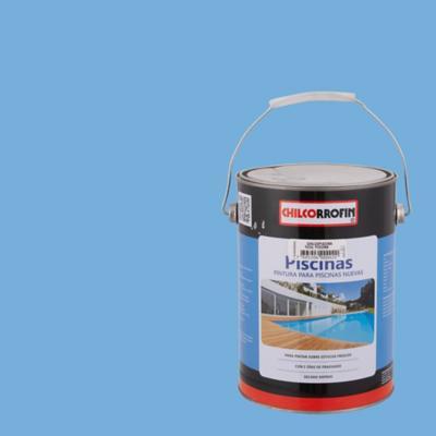 Pintura poro abierto Piscinas 1 galón Azul