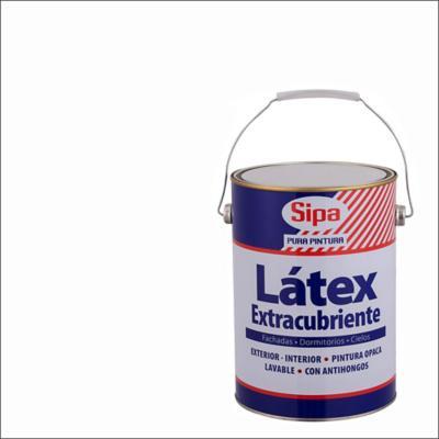 Pintura látex extracubriente blanco 1 gl