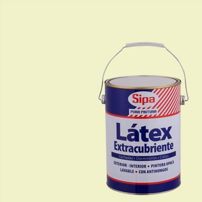 Pintura látex extracubriente blanco invierno 1 gl