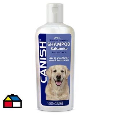 Shampoo balsámico Canish p/perro 300 cc + 20% gratis