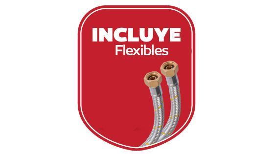 Incluye flexibles