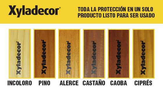 Tonos Xyladecor Colores