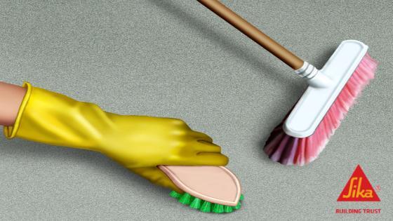 pasos como preparar mortero con sikalatex