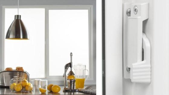Ambientación ventana corredera PVC Klassik termopanel