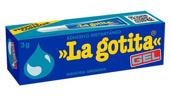 adhesivo instantaneo La gotita gel