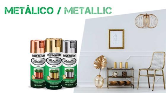 pinturas especiales, spray, aerosol, pintura metalica, rust oleum, montana, mtn