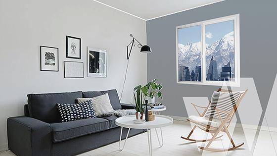 Ambientación ventana corredera PVC Klassik