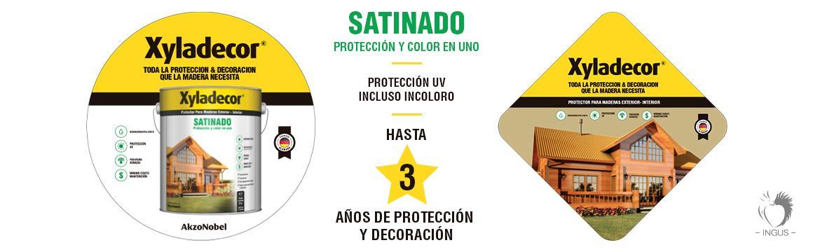 XYLADECOR SATINADO PROTECTOR MADERA