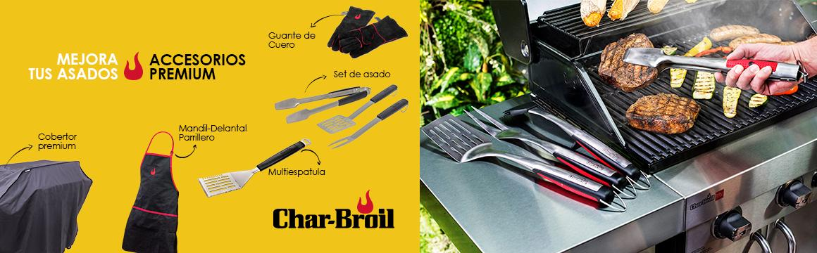 accesorios charbroil