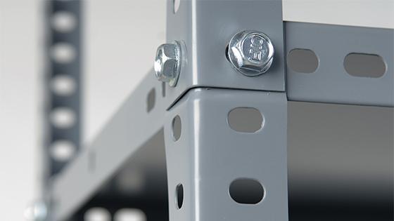 Estante 180x90x40 cm metal 5 repisas Fixser