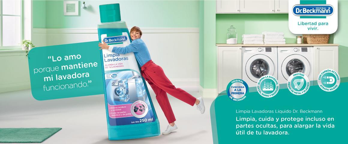 Limpia lavadoras
