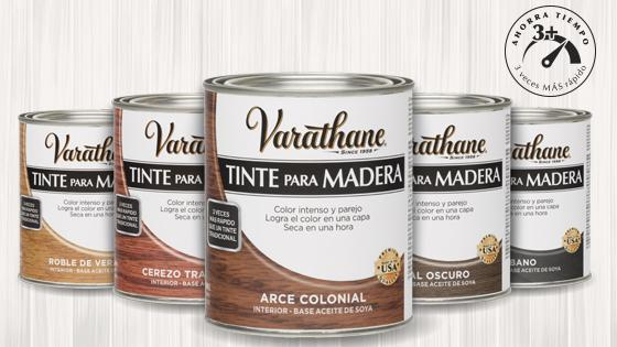 tinte madera, pintura madera, barnices, varathane, rust oleum, madera
