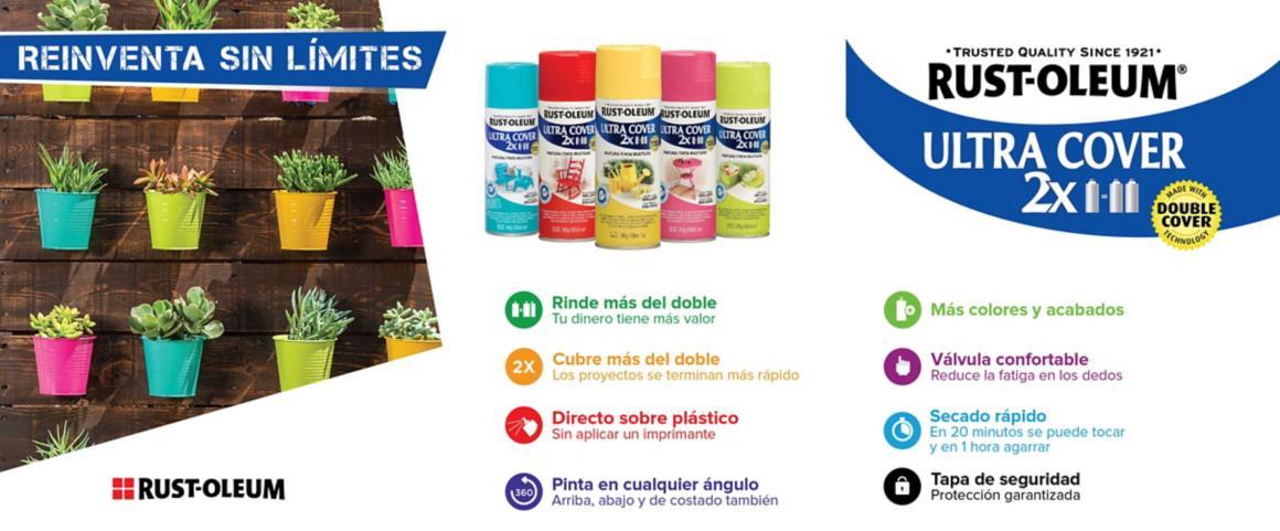 aerosol, pintura aerosol, spray, pintura spray, multiusos, rust oleum, ultra cover, montana, mtn, colores