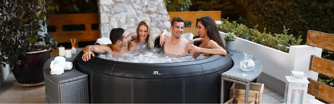 Hot tub inflable, jacuzzi inflable, SPA inflable, jacuzzi