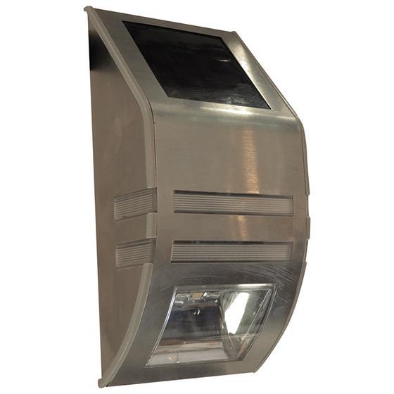 APLIQUE MURO EXTERIOR LED SOLAR 0,2W