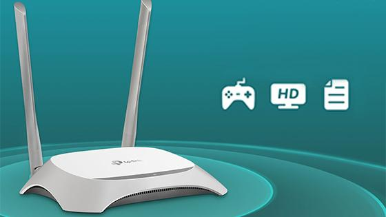 ROUTER INAL.N 300MBPS TLWR840N