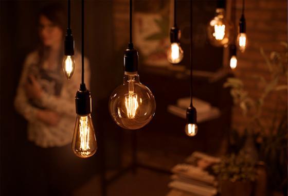 Iluminación retro para tu hogar.