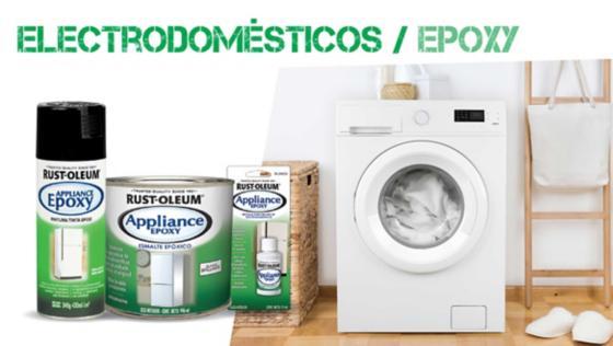 appliance epoxy, pintura electrodomestico, pintura epoxica, pinturas especiales, rust oleum, montana, mtn
