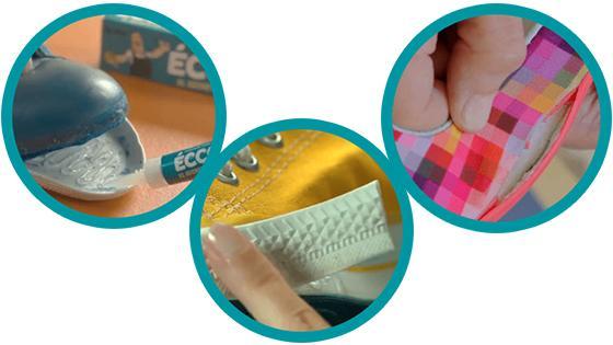 adhesivo zapatillas eccole