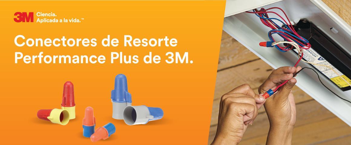 Conectores de Resorte 3M