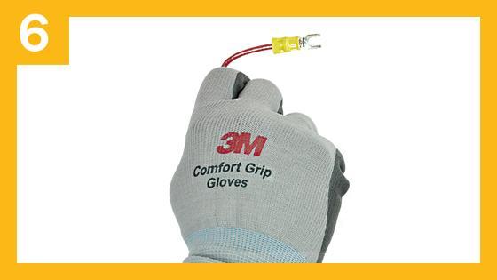 Paso 6 para una conexión segura contra descargas eléctricas