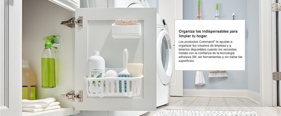 Organiza los indispensables para organizar tu hogar