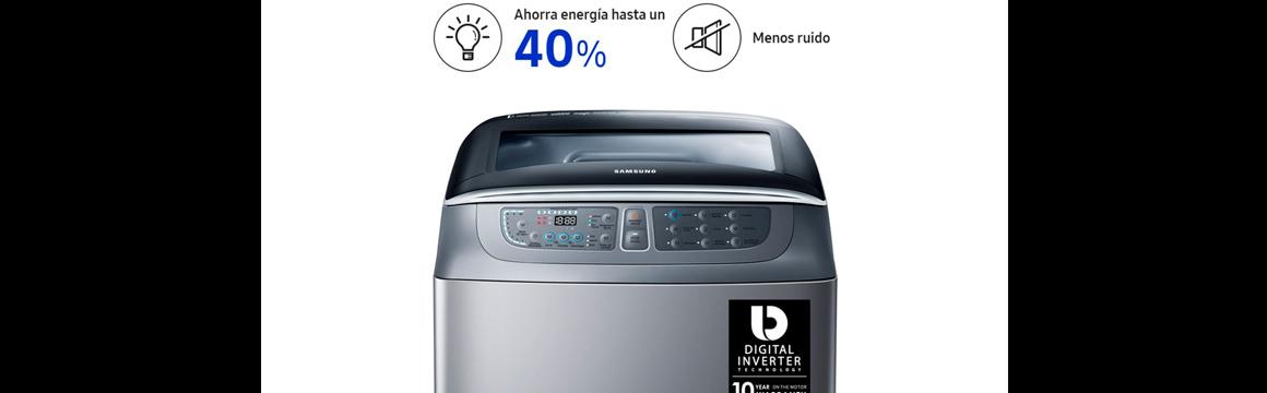 Lavadora de carga superior con Digital Inverter