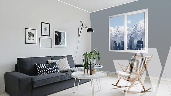 Ambientación ventana corredera PVC Klassik termopanel Low-E