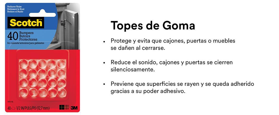 Topes de Goma
