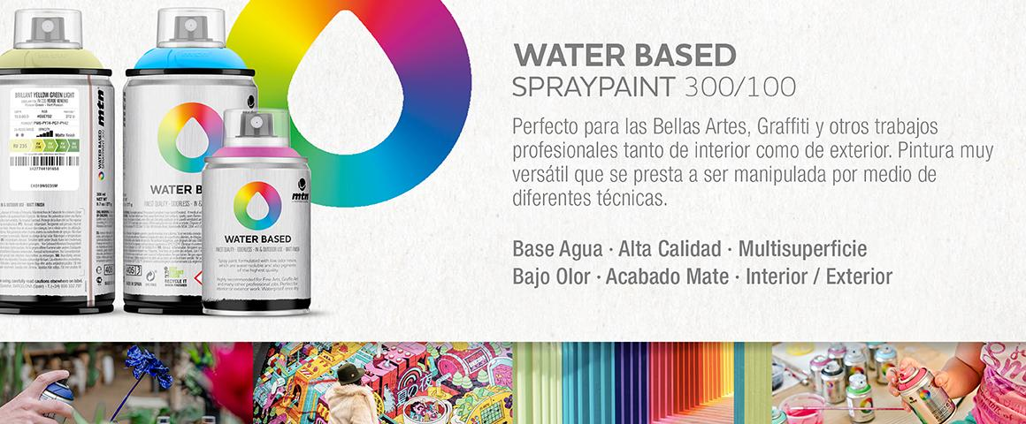 spray aerosol base agua montana colors arte urbano graffiti decoración creatividad pack