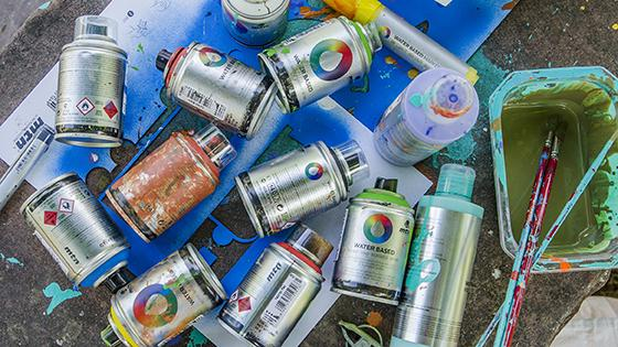 spray aerosol base agua montana colors arte urbano graffiti decoración creatividad pack