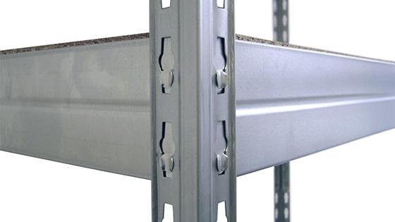 Estante METAL MADERA 176x120x50 cm