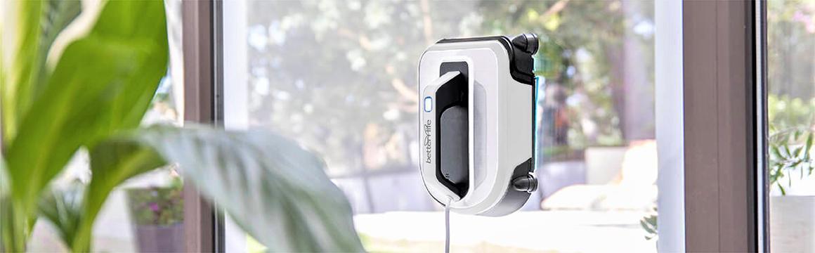 Robot Limpia Vidrios betterlife CC901, hogar más limpio