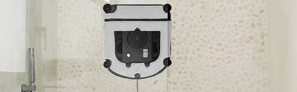 Robot Limpia Vidrios betterlife CC901, para vidrios exteriores de edificios en altura