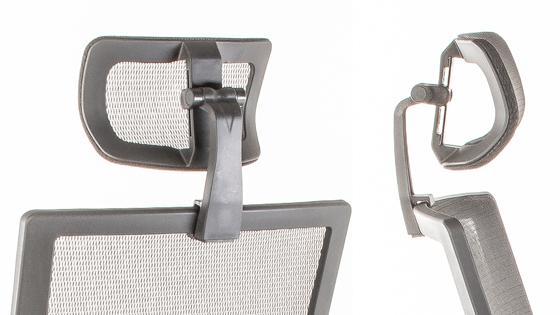 Cabecero regulable de la silla BIT-1CL de Mikra