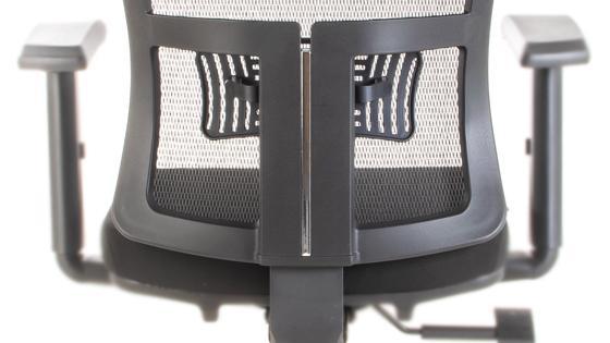 Altura de respaldo regulable en silla STARK-2 de Mikra